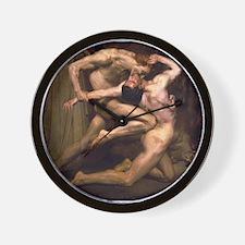 Virgil & Dante Wall Clock