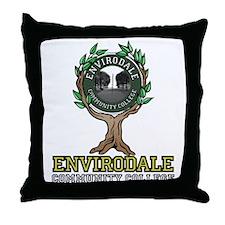 Envirodale Throw Pillow