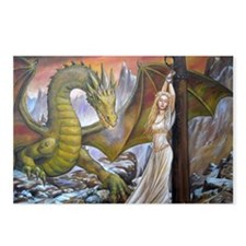 Dragon and Captive Postcards (Package of 8)