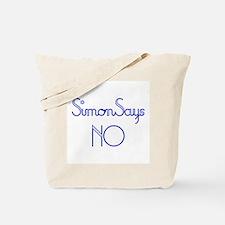 Simon Says NO Tote Bag