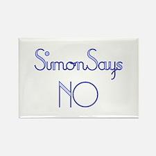 Simon Says NO Rectangle Magnet