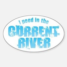 I Peed in the Current River Decal