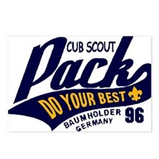 Cub Scout Pack 96 Postcards (Package of 8)
