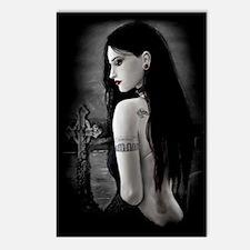 Dark Ruby Postcards (Package of 8)