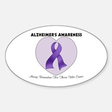 Alzheimer's Awareness Decal