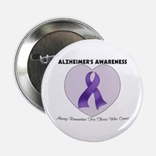 """Alzheimer's Awareness 2.25"""" Button"""