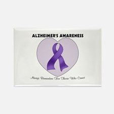 Alzheimer's Awareness Rectangle Magnet