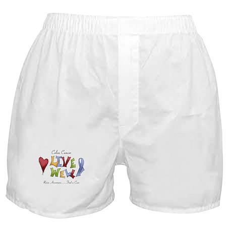 Colon Cancer (lw) Boxer Shorts