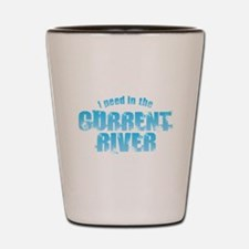 I Peed in the Current River Shot Glass