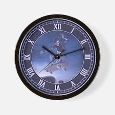 Board to Death Wall Clock