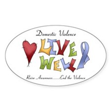 Domestic Violence (lw) Decal