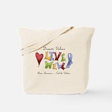 Domestic Violence (lw) Tote Bag