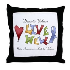 Domestic Violence (lw) Throw Pillow