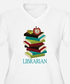 Book Stack Librarian T-Shirt