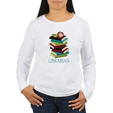 Book Stack Librarian T-Shirt