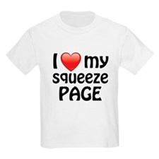 I Love My Squeeze Page T-Shirt