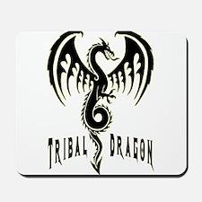 Tribal Dragon Mousepad