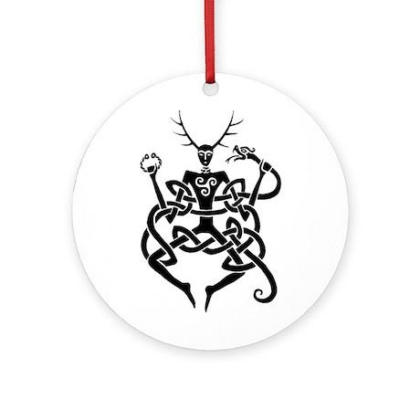 Cernunnos Ornament (Round)