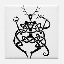 Cernunnos Tile Coaster