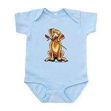 Red Dachshund Lover Infant Bodysuit