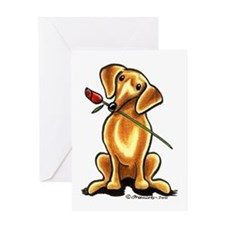 Red Dachshund Lover Greeting Card