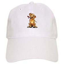 Red Dachshund Lover Baseball Cap