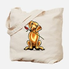 Red Dachshund Lover Tote Bag