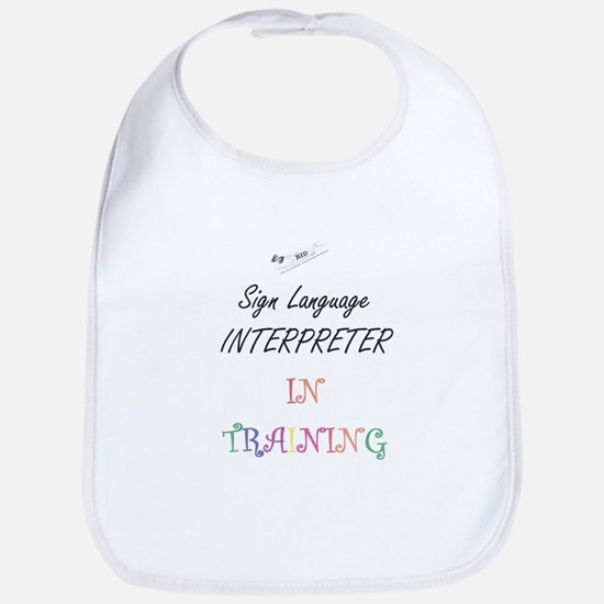 terp in training Baby Bib