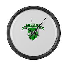 ALGERIA SOCCER 2 Large Wall Clock