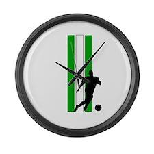 ALGERIA SOCCER 3 Large Wall Clock