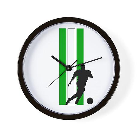 ALGERIA SOCCER 3 Wall Clock