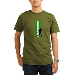 ALGERIA SOCCER 3 Organic Men's T-Shirt (dark)