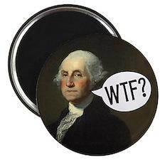 """Washington WTF 2.25"""" Magnet (100 pack)"""
