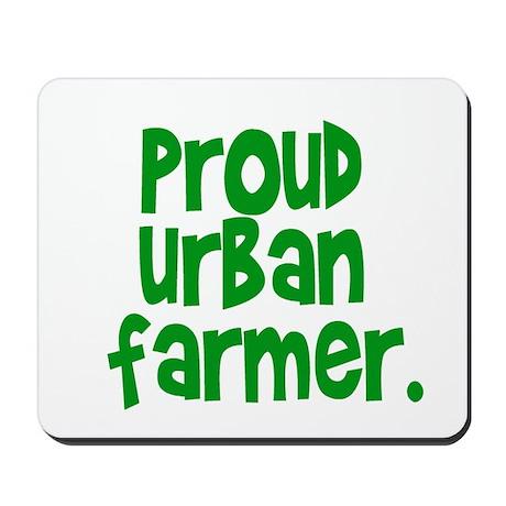 urban farmer Mousepad