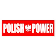 Polish Power Bumper Sticker
