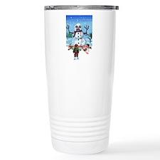 Little Timothys LAST Snowman Thermos Mug