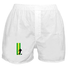 BRAZIL SOCCER 2 Boxer Shorts
