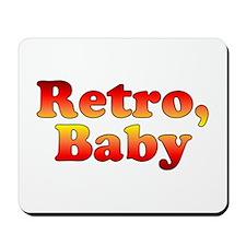 Retro, Baby Vintage 80's Styl Mousepad