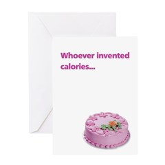 Card: Whoever invented calories
