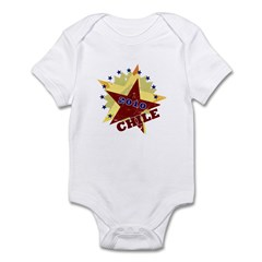 CHILE SOCCER 5 Infant Bodysuit