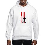 DENMARK SOCCER 3 Hooded Sweatshirt