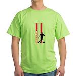 DENMARK SOCCER 3 Green T-Shirt