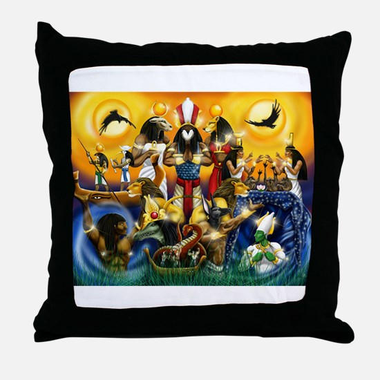 Cool Egypt Throw Pillow