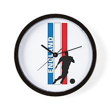 ENGLAND FOOTBALL 3 Wall Clock