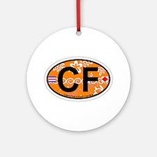 Cape Fear NC - Oval Design Ornament (Round)