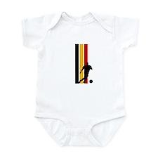 GERMANY FOOTBALL 2 Infant Bodysuit