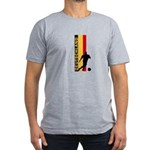 GERMANY FOOTBALL 3 Men's Fitted T-Shirt (dark)