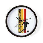 GERMANY FOOTBALL 3 Wall Clock