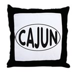 Cajun Zydeco Throw Pillow