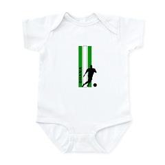 GHANA FOOTBALL 3 Infant Bodysuit